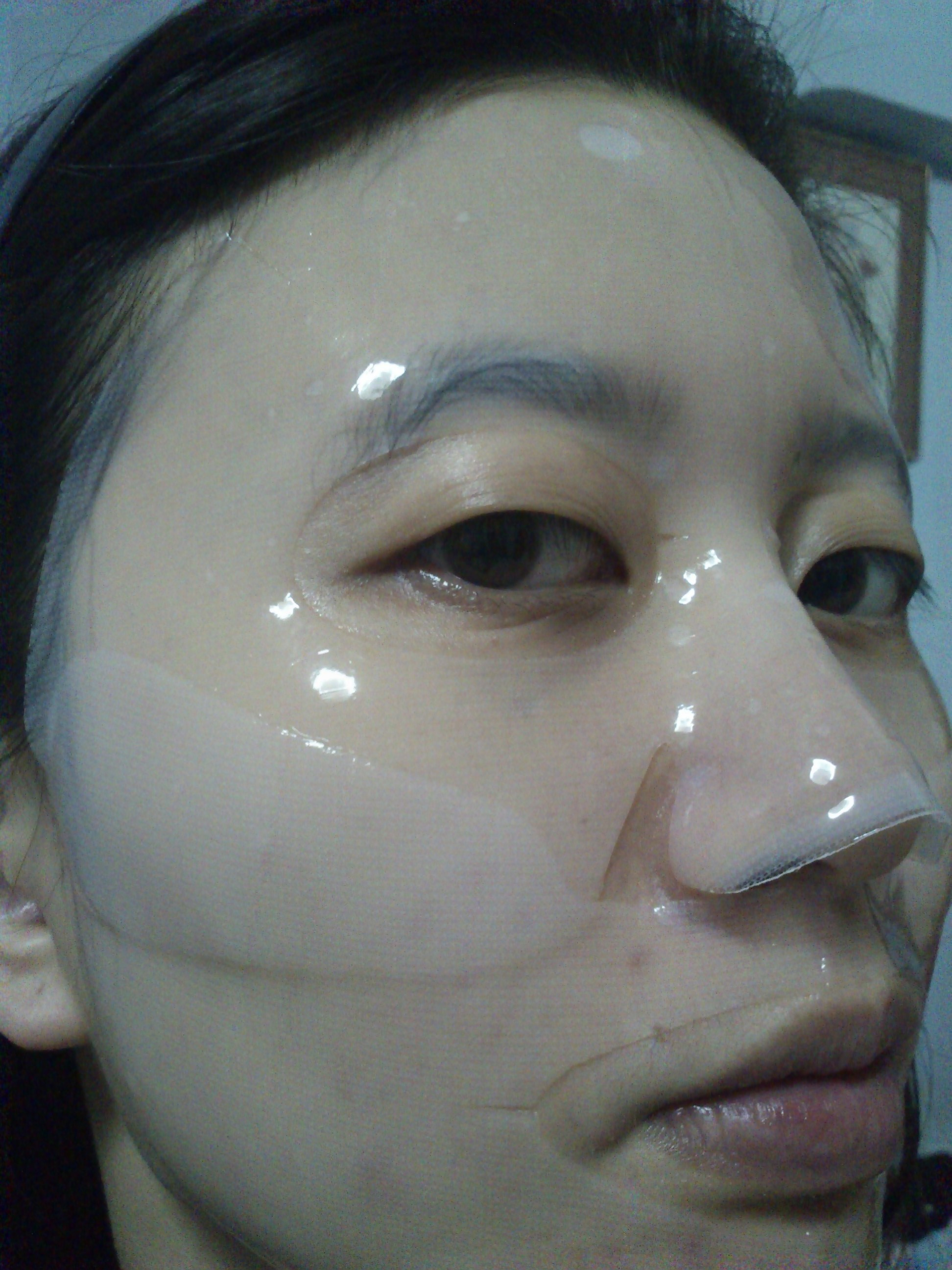 Review Baviphat Miracle Snail Cure Hydro Gel Mask