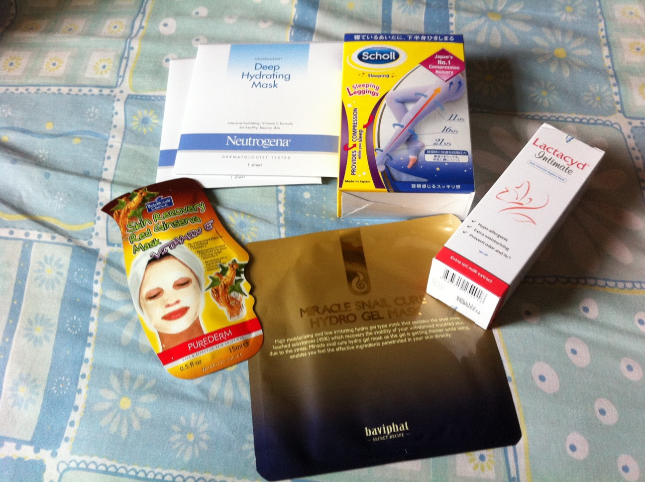3e84cc6b39a4c2 from Top left clockwise: Neutrogena Hydrating mask – $2 each one of my  favourite brand of sheet masks. Scholl Medical Sleeping ...